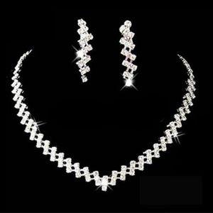 Jewelry - Bridal Wedding Prom Jewelry Crystal Rhinestone Dia